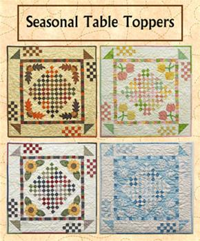 "RGR137 - Seasonal Table Toppers - 29 1/2"" Square [4 toppers]"