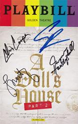 """A Doll's House Part 2"" - Signed Playbill"