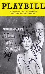 """All My Sons"" - Signed playbill"