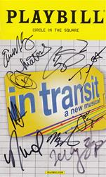 In Transit #2 - Signed Playbill