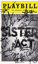 """Sister Act"" - Signed playbill"