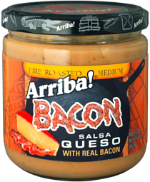 Arriba! 16 oz Bacon Queso
