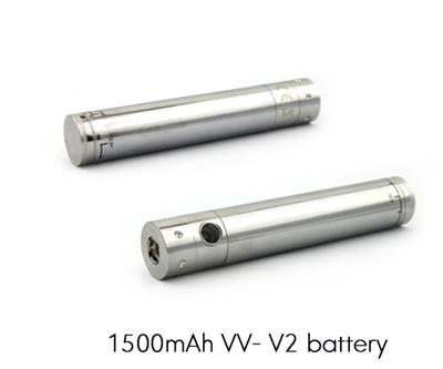 1500mAh Variable Voltage Battery - Uses eGo Charger!