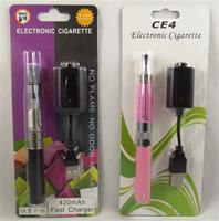eGo 650mAh Battery with CE4 Clearomizer Blister Pack Starter Kit