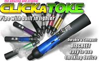 Click-A-Toke Pipe - PREFILLED WITH BUTANE