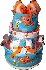 FINDING NEMO SWEET BABY CAKE FOR TWINS!!