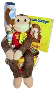 CURIOUS GEORGE GIFT BASKET