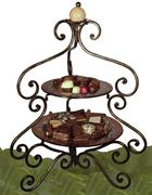 GOURMET GIFT BASKET 2 TIER CHOCOLATE DECADENCE