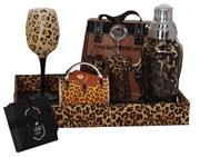 LEOPARD BAR SET