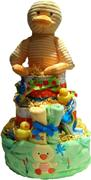 DUCK SWEET BABY DIAPER CAKE