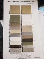 HN&HT Upholstery Color Card