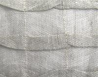 Open Weave Pleated Linen