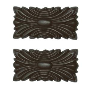 Cherry Walnut Decorative Seam Plates (2 Per Pkg.)