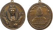 "1588, England. DEFEAT OF THE SPANISH ARMADA ""DANGERS AVERTED."" Later cast bronze."