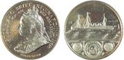 1897 ship QUEEN VICTORIA'S JUBILEE - BRITISH COMMERCE. BHM 3515
