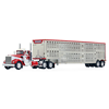 1/64 DCP KW A model day cab w cattle trailer koppes