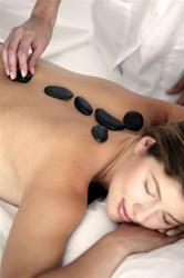 Hot Stone Massage Therapy - 1 hour
