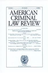 American Criminal Law Review