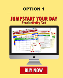 Jumpstart Your Day Productivity Set Option 1