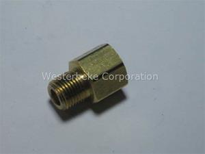 ADAPTER 1/8NPT MALE TO FEMALE #013339