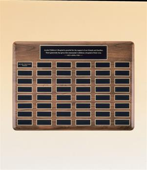 Airflyte Perpetual Plaque With Extra Large Individual Plate