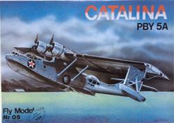 FM CATALINA PBY 5A PAPER MODEL KIT 1/33