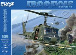 FM BELL UH-1B IROQUOIS PAPER MODEL KIT 1/33 (#125)