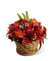 Fall Basket Arrangement Deluxe