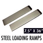 Zinc Coated Steel Loading Ramps