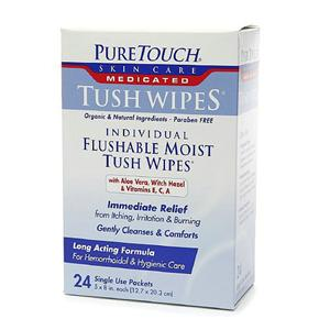 Medicated Tush Wipes
