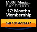 12 months access to Sax School