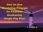 Three month 1 on 1  Mentoring Program Single pay