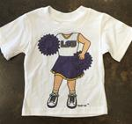 Girls Cheerleader T-Shirt