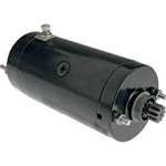 Black Hitachi Starter fits 74-88 BT