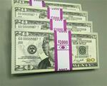 $20 Bills: NEW Style, Front & Back, Standard-Grade, Full-Print, $2K