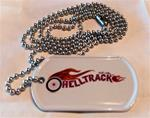 Helltrack Dog Tag w/ Autograph