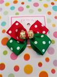 0016A Matching Girls hair-bow