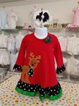 00099 Rudolph Knit Long Sleeve dress