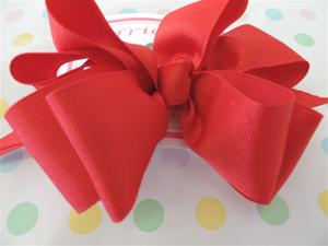 Hairbow Red