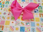 ABC) New Pink Clip Bow