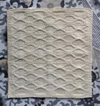 Block Quilting Garter Border Washcloth Pattern