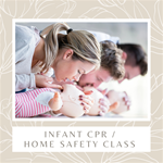 Infant CPR & Home Safety Class (per couple)