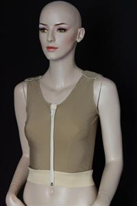 FEMALE COMPRESSION VEST WITH CUT OUT DOUBLE PANEL (900V)