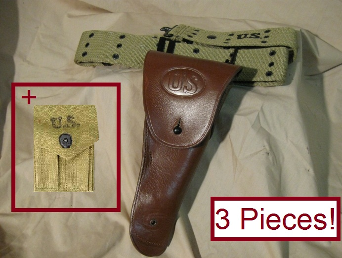 WWII Belt Holster for the 1911