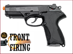 FRONT FIRE: 9mm Blank Gun: Kimar Beretta Px4 Blued