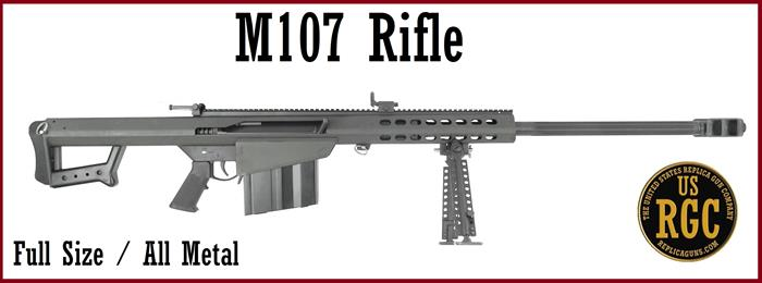 Custom M107 ALL METAL INERT Training Weapon