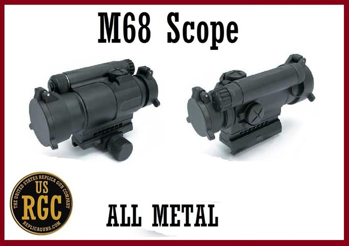Custom M68 Red Dot Scope Functioning Replica