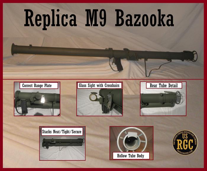 American M9 Bazooka Replica The United States Replica