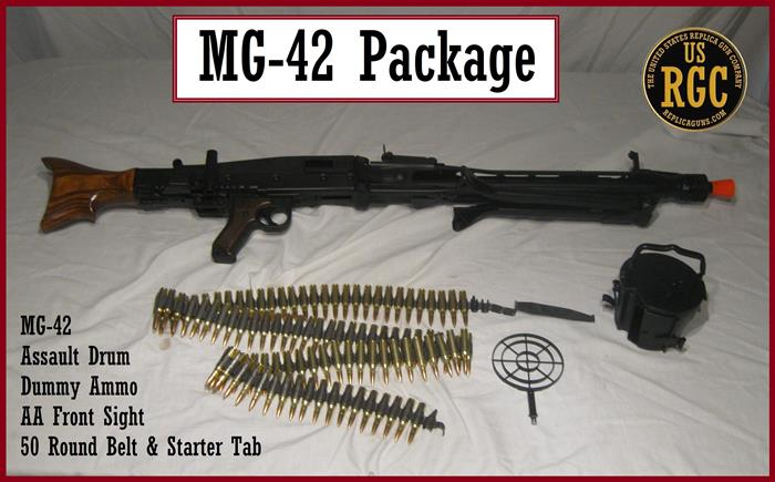 WWII Axis: German MG-42 Package