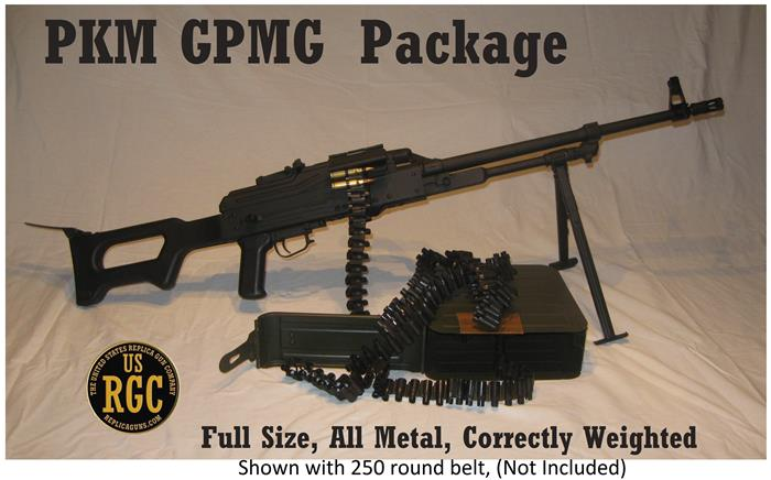 PKM General Purpose Machine Gun Weighted Polymer Stocks